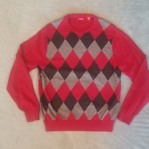 Men's Izod crewneck sweater